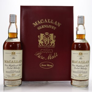 Macallan 1958 Campbell, Hope and King - Rinaldi Import / Twin Pack2 x 75cl