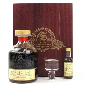 Glenfarclas 1958 Signatory Vintage 40 Year Old Including Miniature / 10th Anniversary