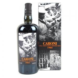 Caroni 1985 21 Year Old Full Proof Trinidad Rum