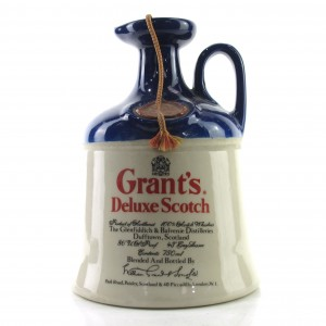 Grant's Deluxe Scotch Whisky Decanter 1980s
