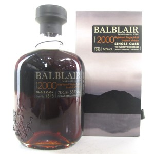 Balblair 2000 Single Cask #1343 / TWE Exclusive