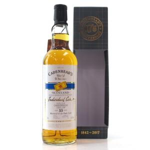 Cameronbridge 33 Year Old Cadenhead's
