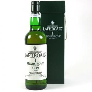 Laphroaig 1989 High Grove