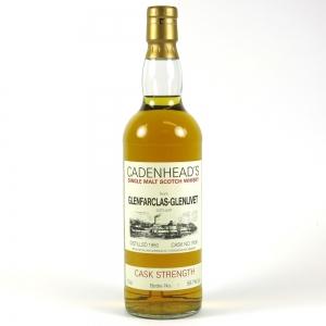 Glenfarclas 1980 Cadenhead's Cask Strength Bottle No.1