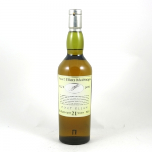 Port Ellen 21 Year Old Maltings 25th Anniversary Front
