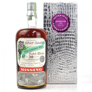 Rosebank 1974 Silver Seal 30 Year Old Magnum 1.5 Litres