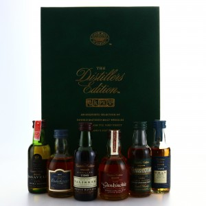 Classic Malts Distiller's Edition Miniatures x 6 / First Releases