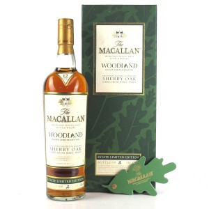 Macallan 12 Year Old Woodland Estate Limited Edition / Bottle No. 2