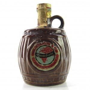Queen's Castle Finest Scotch Whisky Decanter 1960s