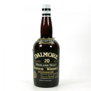 Dalmore 20 Year Old 1970s