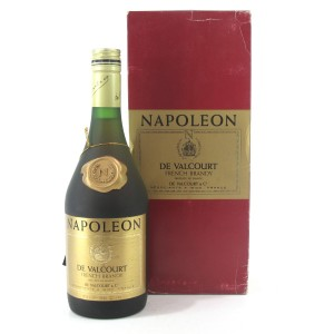De Valcourt Napoleon Brandy / Japanese Import