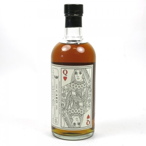 Hanyu 1990 Queen of Hearts Single Cask #9102 / Bottle No.8 Front