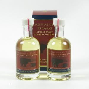 Abhainn Dearg Miniatures 2 x 5cl Front