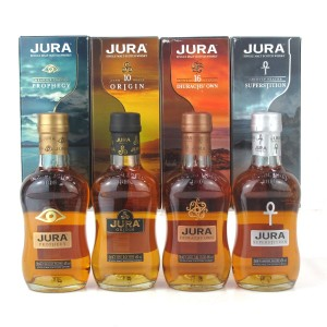 Jura Selection Gift Pack 4 x 20cl