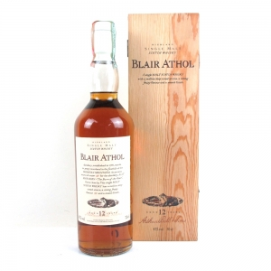 Blair Athol 12 Year Old Flora and Fauna White Cap / Wooden Boxed
