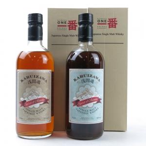 Karuizawa Spirit of Asama 48% and 55% 2 x 70cl