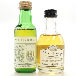 Talisker & Dalwhinnie Miniature Selection x 2