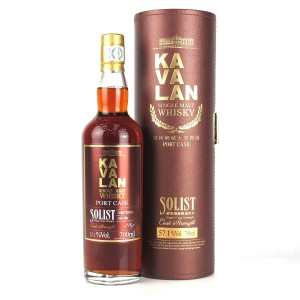 Kavalan Solist Cask Strength Port Cask / 57.1%