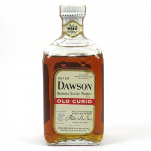 Peter Dawson Old Curio Blended Whisky 1960s Front