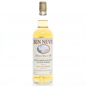 *SEPT 2020 Ben Nevis 1996 Private Cask 15 Year Old / Doug Humphries