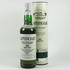 Laphroaig 10 Year Old 1990s Front