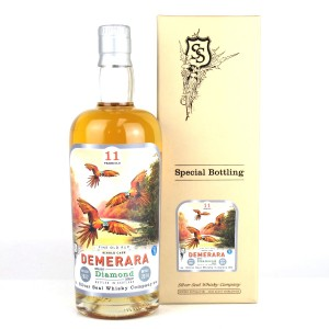 Diamond 2002 Silver Seal 11 Year Old Single Cask Rum