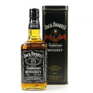 Jack Daniel's Old No7 in Presention tin