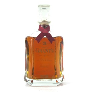Grant's 21 Year Old Scotch Whisky Decanter