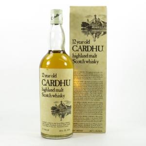 Cardhu 12 Year Old 1970s