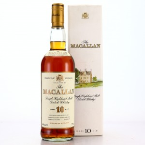 Macallan 10 Year Old 1980s