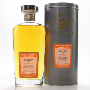Glen Scotia 1974 Signatory Vintage 33 Year Old Cask Strength