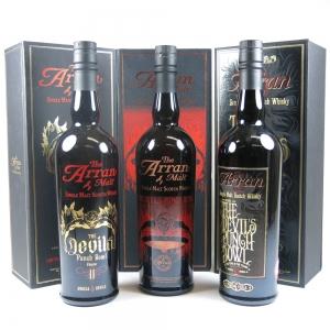 Arran Devil's Punch Bowl Collection 3 x 70cl front