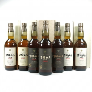 Hakushu 1981 and 1991 Kioke Shiome 7 x 75cl
