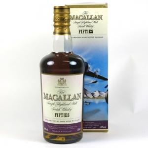 Macallan Decades Fifties front