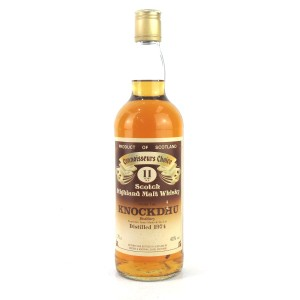 Knockdhu 1974 Gordon and MacPhail 11 Year Old