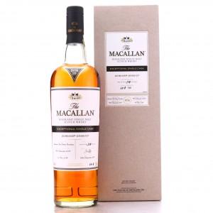 Macallan 2005 Exceptional Cask #21156-07 75cl / 2018 Release