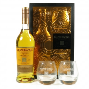 Glenmorangie 10 Year Old Gift Pack including Tumblers