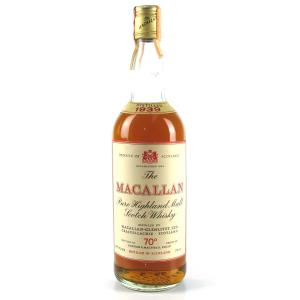 Macallan 1939 Gordon and MacPhail