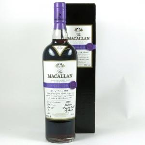 Macallan 1996 Easter Elchies 2013 front