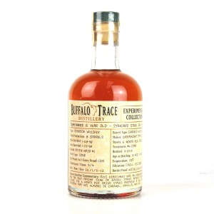 Buffalo Trace 1998 Experimental Collection 15 Year Old 37.5cl / Standard Stave Dry Time