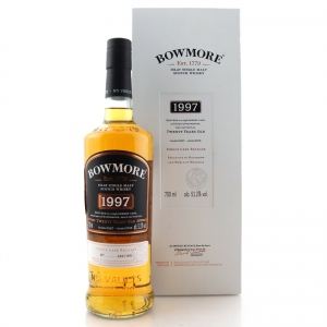 Bowmore 1997 Single Cask 20 Year Old / World Duty Free Heathrow