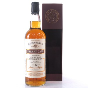 Mortlach 1988 Cadenhead's 29 Year Old