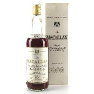Macallan 1960 Campbell, Hope and King / Rinaldi Import