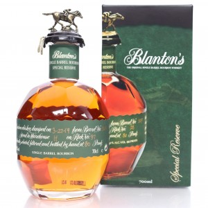Blanton's Single Barrel Special Reserve Dumped 2018