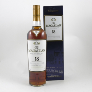 Macallan 1991 18 Year Old (US Import) 75cl front