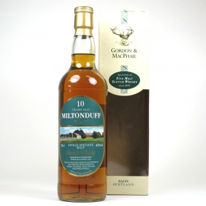 Miltonduff 10 Year old Gordon and Macphail