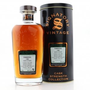 Tomintoul 1988 Signatory Vintage 24 Year Old Cask Strength