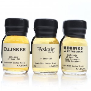 Drinks by the Dram Miniature 3 x 3cl / includes Laphroaig 25 Year Old