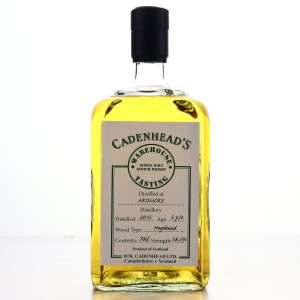 Ardmore 2013 Cadenhead's 5 Year Old / Warehouse Tasting