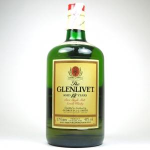 Glenlivet 12 Year Old 1.75 Litre